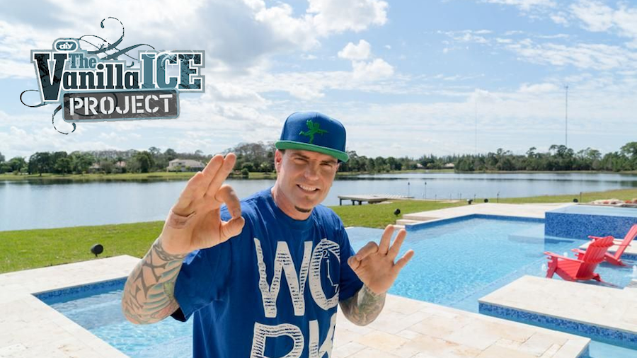 Watch Van Kirk & Sons Pools & Spas Help The Vanilla Ice Project On Mondays In February On Discovery Family Channel
